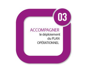 Etape 03 : ACCOMPAGNER LE DÉPLOIEMENT DU PLAN OPÉRATIONNEL